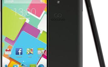 DualSIM telefon GoClever Insignia 550i + 200 Kč za registraci + dodatečná sleva 20 %