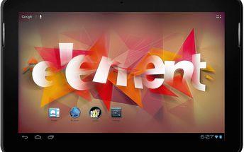 Tablet Sencor Element 10.1D101G 8GB, 3G + 200 Kč za registraci + dodatečná sleva 20 %