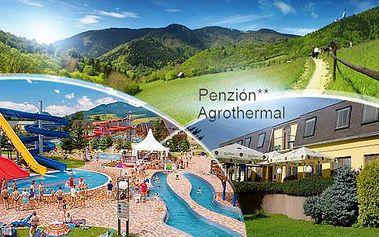 Slovensko-Liptov! 3-6 dní pro dva včetně snídaní a lahve vína, v Penzionu** Agrothermal poblíž aquaparku Tatralandia!