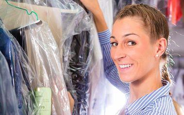 Voucher v hodnotě 200 Kč na služby čistírny