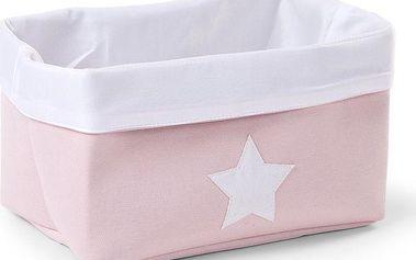 Childhome Skládací úložný box, 32x20x20 cm, Růžová