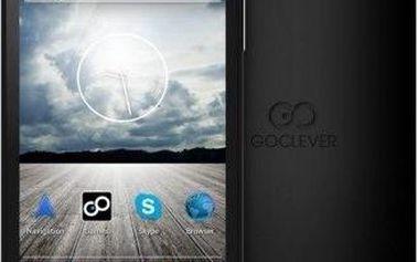Mobilní telefon GoClever Quantum 4, černý + 200 Kč za registraci + dodatečná sleva 20 %