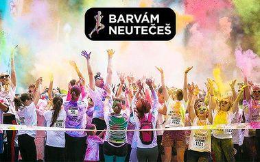 Barvám Neutečeš – zábavný rodinný běh ve víru barev