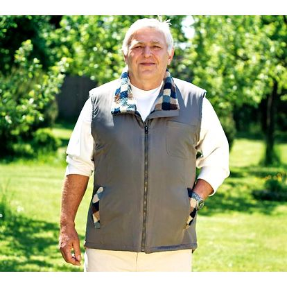 Pánská vesta bez rukávů, XL