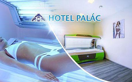 Roční permanentka do solária v hodnotě 1000, 2000 nebo 3000 Kč! Solárium v Hotelu Palác v Olomouci!