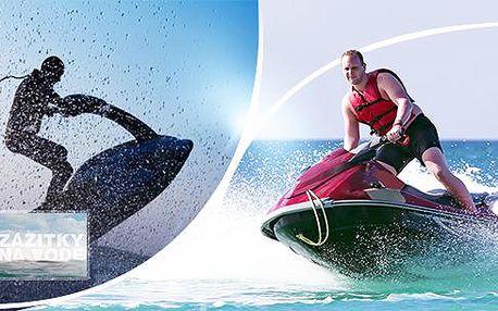 10 - 60 minut jízdy na vodním skútru či Jetsurf se zkušeným instruktorem! To je adrenalin na maximum!