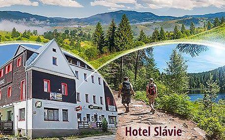 Šumava - Železná Ruda! 3 či 4 dny pro dva v hotelu Slávie se snídaněmi nebo polopenzí nedaleko hranic s Německem!
