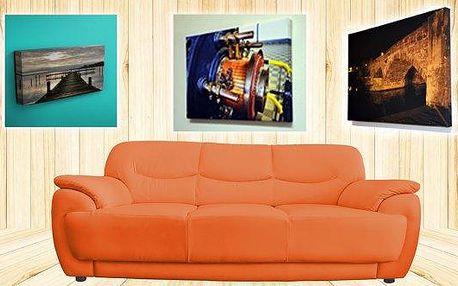 Fotoplátno na dřevěném rámu, 4 varianty velikostí. Fotoobraz je krásnou a originální dekorací. Vyberte si svou oblíbenou fotografii a nechte si ji proměnit v malé umělecké dílo! Fotoobraz je vytištěn na profesionální tiskárně Canon imagePROGRAF iPF8400 na