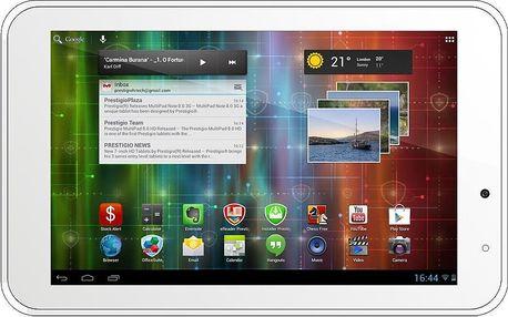 Tablet Prestigio MultiPad 2 Pro Duo 7.0, PMP5670C_WH_DUO + 200 Kč za registraci + dodatečná sleva 20 %