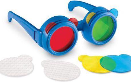 Learning Resources Brýle s vyměnitelnými barevnými sklíčky