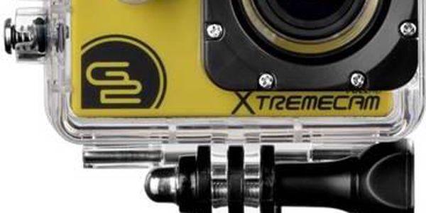 Outdoorová kamera GoGEN XTREME CAM 10 Y žlutá