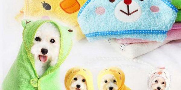 Roztomilý župan pro psy Puppy