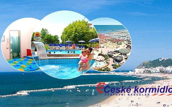 8–10denní Itálie (Emilia Romagna) Hotel Senior*** – polopenze, doprava vlastní nebo autobusem (sleva 50 %), děti ZDARMA