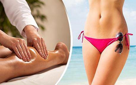 60min. ruční lymfatická, anticelulitidní, klasická či sportovní masáž, baňkování nebo medová masáž!