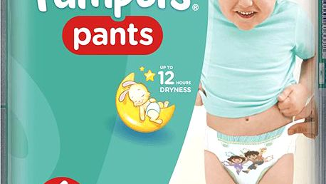 PAMPERS Pants 6, 19ks (16+ kg) CARRY Pack - kalhotkové plenky