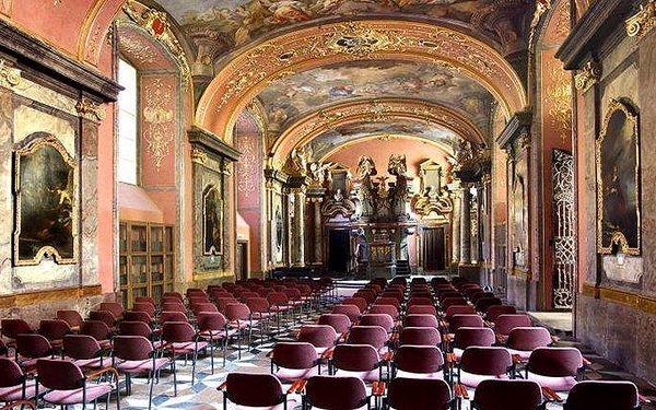 Koncert klasické hudby v pražském Klementinu
