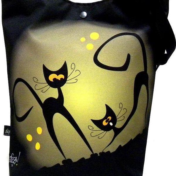 Taška s kočkou Gaul 03 42x32 cm, Gaul designs