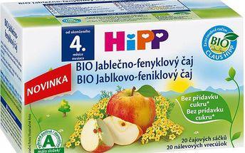 HiPP BIO Jablečno-fenykový čaj 30g