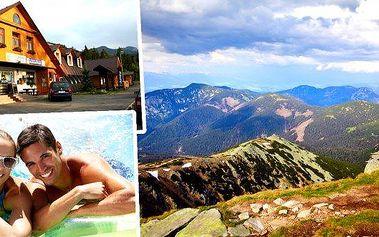Slovensko, Nízké Tatry - Demänovská dolina na 4 dny pro dva, dítě do 12 let zdarma. Slevy na termální bazény, lanovky. Relaxujte v jedné z nejkrásnějších oblastí, nechte se okouzlit krásou Demänovských jeskyň Slovenska a Nízkotatranského národního parku.
