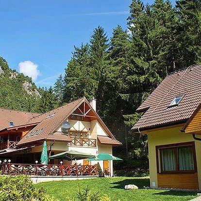 3 až 6denní pobyt pro 2 s polopenzí a saunou v apartmánech Gader na Slovensku
