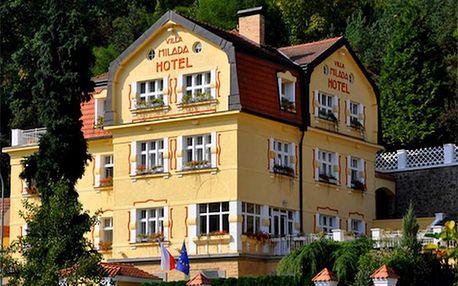 Dovolená pro DVA v Praze ve stylovém hotelu s privátním wellness