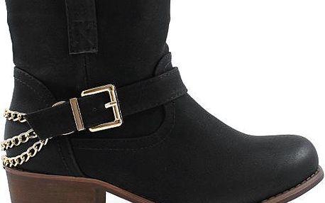 Kotníkové boty YBS119B 36