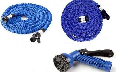 Flexibilní zahradní hadice zahradní 60 m kovové koncovky