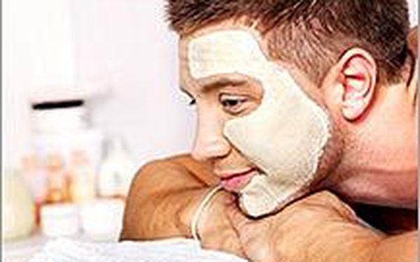 Kosmetické ošetření pleti pro muže včetně příjemné masáže. I vaše pleť potřebuje péči.