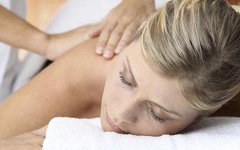 Hodinová masáž dle vlastního výběru nebo 3 + 1 zdarma. Výběr z pěti druhů masáží v Lady Linie!