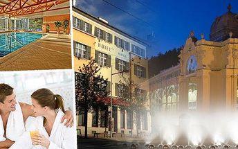 Lázeňský pobyt v hotelu Haná*** na 3 - 7 dnípro 2 osoby s polopenzí, masážemi, zábalem a bazénem v Mariánských Lázních. Relaxujte v překrásném lázeňském městu a užijte si odpočinek při wellness procedurách.