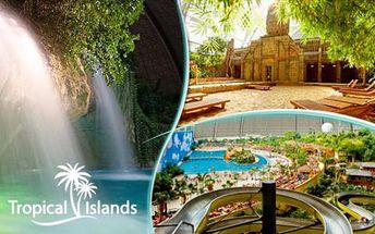 Autobusový zájezd do oblíbeného aquaparku Tropical Islands v Německu