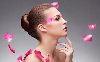 Májový kosmetický balíček s masáží obličeje