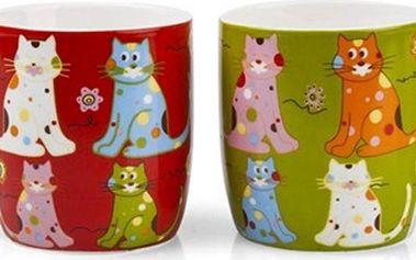 Banquet Sada hrnků kočky, 2 ks 60H2208 390 ml