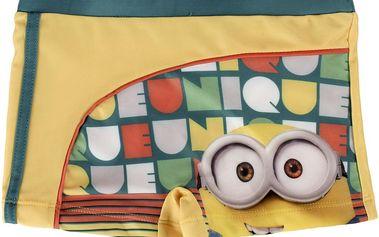 Disney Brand Chlapecké nohavičkové plavky Mimoni, 134 cm