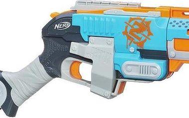 Nerf ZOMBIE pistole střílí 3 šipky najednou