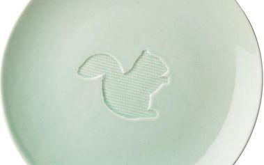 Keramický talíř Animal Pastel Green