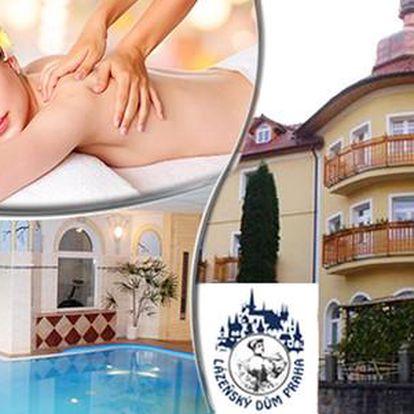 Lázeňské procedury, neomezený bazén a odpočinek pro 1 nebo 2 osoby s polopenzí v Luhačovicích, do 30. 6. 2016