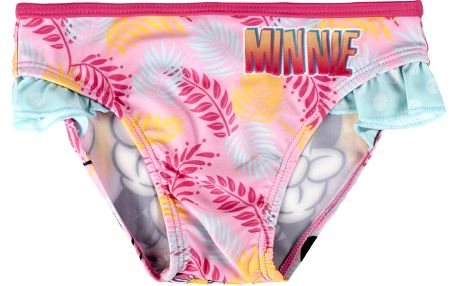 Disney Brand Dívčí plavky Minnie, 116 cm