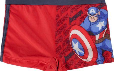 Disney Brand Chlapecké nohavičkové plavky Avengers, 134 cm