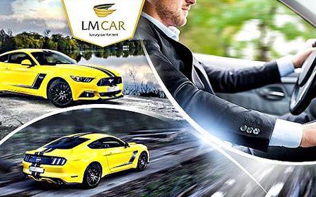 15 - 60minutová jízda Mustangem v roli řidiče či spolujezdce! Svezte se v automobilové legendě!