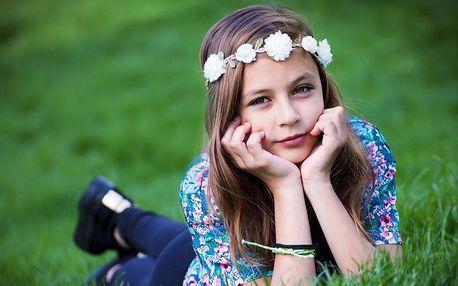 Focení dětí v přírodě + 20 retušovaných fotek