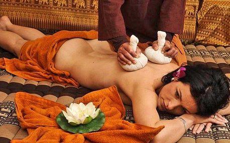 Thajské masáže pro jednoho i dva v salonu Lotus