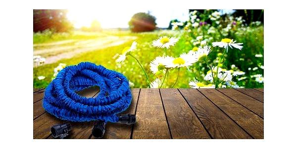 Vyjímečně lehká a flexibilní zahradní hadice s maximální délkou 30 metrů za neuvěřitelných 289 Kč!