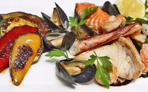 Čerstvé mořské plody pro dva u Emy Destinnové