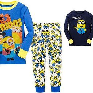 Pyžamo Mimoni pro holky i kluky- 8 variant !!!