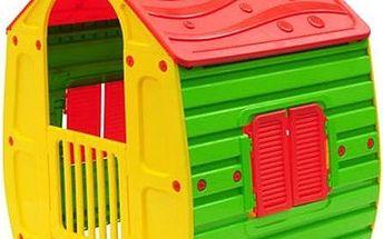 Dětský domeček Starplast Magical House z kvalitních materiálů