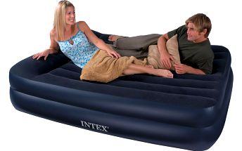 Kvalitní nafukovací postel Intex Queen 152 x 203 x 42cm