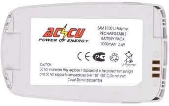 Accu baterie za Samsung BST2058RE, BST2058SE 1000mAh Li-Pol