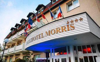 3denní dámský wellness pobyt pro 2 s polopenzí v Parkhotelu Morris v Novém Boru