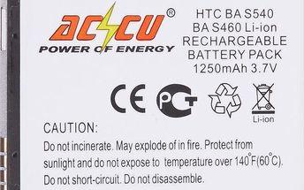 Accu baterie za HTC BA-S460 1250mAh Li-ion